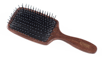 Large Natural Wood Paddle Hair Brush NBRS-50102H