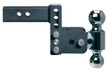 "Adjustable Ball Mount - 3"" Drop & 3-1/2"" Rise with 2"" & 2-5/16"" Trailer Balls - TS10033B"