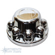 Hub Cover - 8 Lug - Chrome -QT765
