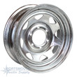 "16"" Wheel - 6 Lug - Galvanized - TM166G"