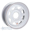 "16"" Wheel - 6 Lug - White - TM166LP"