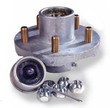 "5 Lug on 4.50"" Galvanized Hub Kit - 1-1/16"" x 1-3/8"" - 81049"