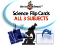 UIL Science FlipCards - All 3 Subjects