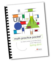 Math Practice Tests for UIL or TAPPS practice - real tests, taken from actual invitational meets!