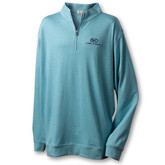 A341 Heather Quarter Zip Sweater
