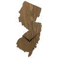 NJ Wood Wall Clock