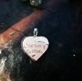 Jersey Gma Beach Writing Handmade Necklace