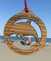 Summer 2014 Seaside Heights Dolphin Ornament 4""