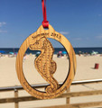 Summer 2014 Seaside Heights Sea Horse Ornament 4""