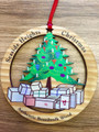 Seaside Heights Christmas Tree Ornament