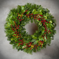 Country Laurel Wreath