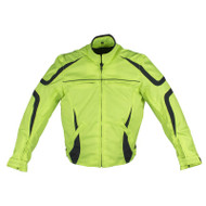 Mens Mesh & Nylon Motorcycle Jacket