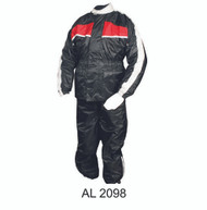 Men's Red/Black Rain Suit