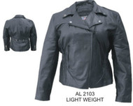 Ladies Lightweight Motorcycle Jacket