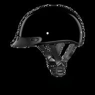 D.O.T. DAYTONA SKULL CAP Helmet- HI-GLOSS BLACK