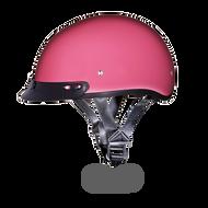 D.O.T. DAYTONA SKULL CAP Helmet- HI-GLOSS PINK