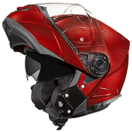 D.O.T. DAYTONA GLIDE HELMET- BLACK CHERRY METALLIC