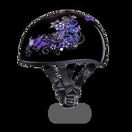 D.O.T. DAYTONA SKULL CAP- With  BUTTERFLY