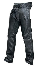 Drum Dyed Naked Cowhide Unisex Chaps