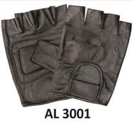 Allstate Leather 3001 Leather Fingerless Gloves