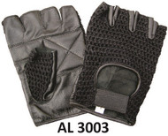Allstate Leather 3003 Leather Fingerless Gloves
