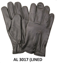 Allstate Leather 3017 Lined Leather Driving Gloves