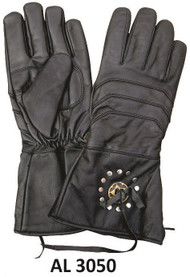 Allstate Leather 3050 Gauntlet Riding Gloves