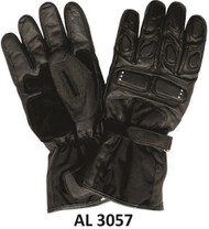 Allstate Leather 3057 Padded Riding Gloves