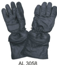 Allstate Leather 3058 Naked Leather Riding Gloves