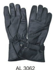 Allstate Leather 3062 Lightly Lined Leather Riding Gloves
