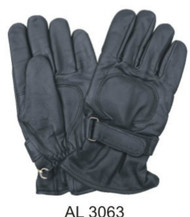 Allstate Leather 3063 Lightly Lined Leather Riding Gloves
