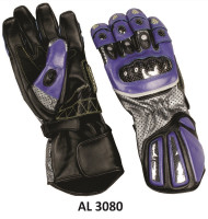 Allstate Leather 3080 Men's Sport Bike Riding Gloves