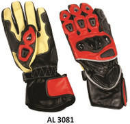 Allstate Leather 3081Men's Sport Bike Riding Gloves