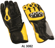 Allstate Leather 3082Men's Sport Bike Riding Gloves