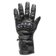 Men's Padded Leather Racing Gloves