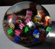 Loose Cane Murano Paperweight