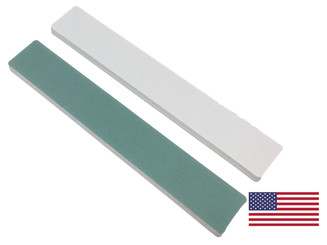 "Quickshine High Gloss (Green/White): 1-1/8"" Wide Jumbo"