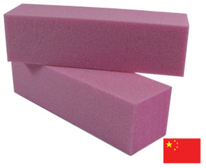 Pink Block with Glitter: 150 grit
