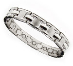 Men's Surgical Stainless Steel Magnetic Golf Bracelet J