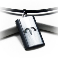guys geometric pendant mens necklace for meaningful minimalistic style necklaces surfer