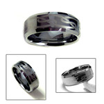 9mm Men's Tungsten Carbide Engraved Celtic Ring