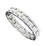Men's Premium Titanium Magnetic Health Golf Bracelet T12