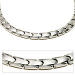 Men's Tempo Titanium Magnetic Power Golf Link Necklace