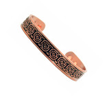 Men's Celtic Knot Copper Magnetic Golf Bracelet C1