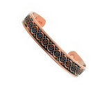Men's Celtic Knot Copper Magnetic Golf Bracelet C2