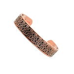 Men's Celtic Knot Copper Magnetic Therapy Bracelet C7