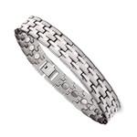 Men's Titanium Magnetic Health Sports Golf Bracelet T27