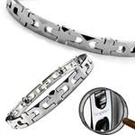 "Tempest Magnetic Tungsten Carbide Golf Bracelet 7.5"""