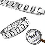 Men's Gladiator Magnetic Tungsten Carbide Golf Bracelet