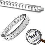 Men's Magnetic Tungsten Carbide Golf Bracelet B